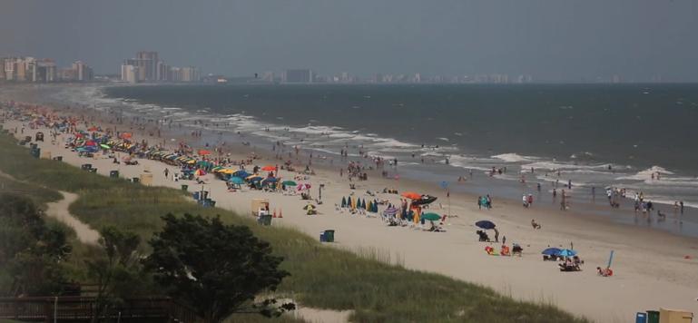 Ocean View from 1410 N. Ocean Blvd